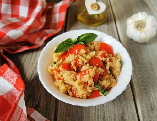 COUS COUS CON PEPERONI IN AGRODOLCE