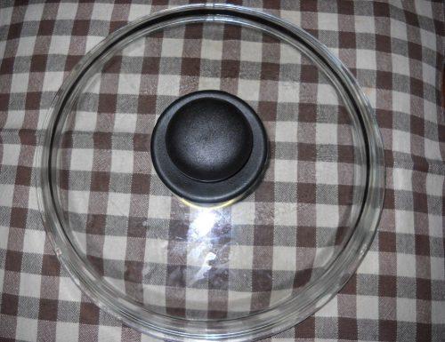 Coperchio Trasparenza in cucina