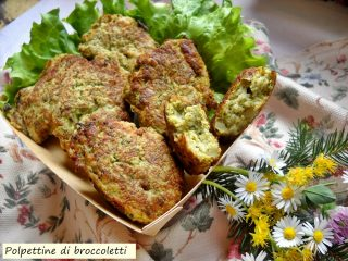 polpettine di broccoletti