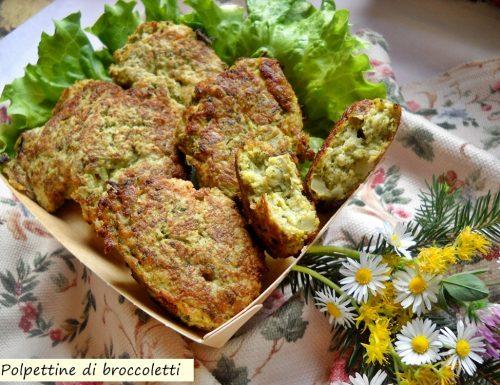 Polpettine di broccoletti. Bontà nel piatto.