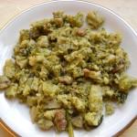 Broccoletti con salsiccia