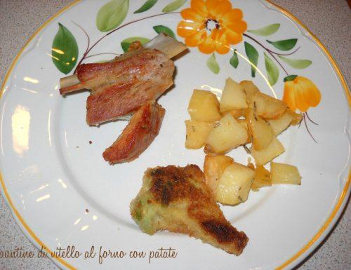 Puntine di vitello al forno con patate