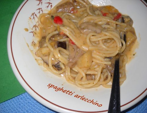 Spaghetti arlecchino