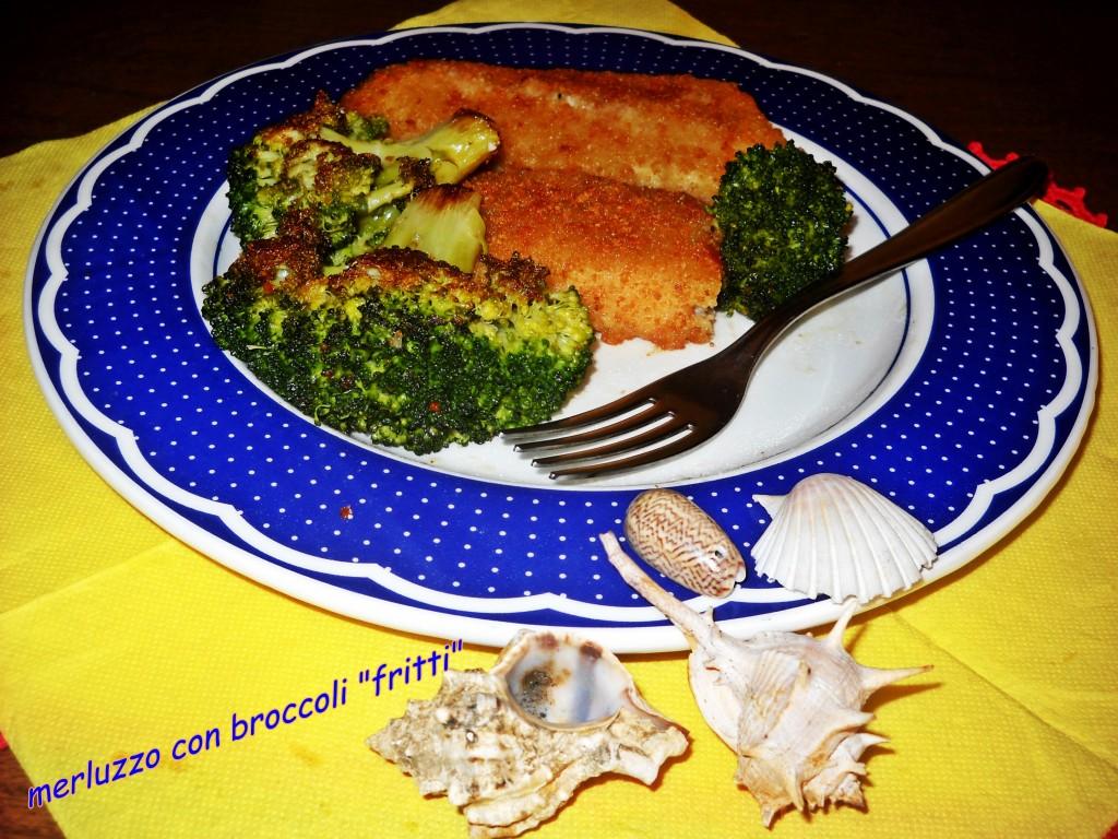 merluzzo con broccoli