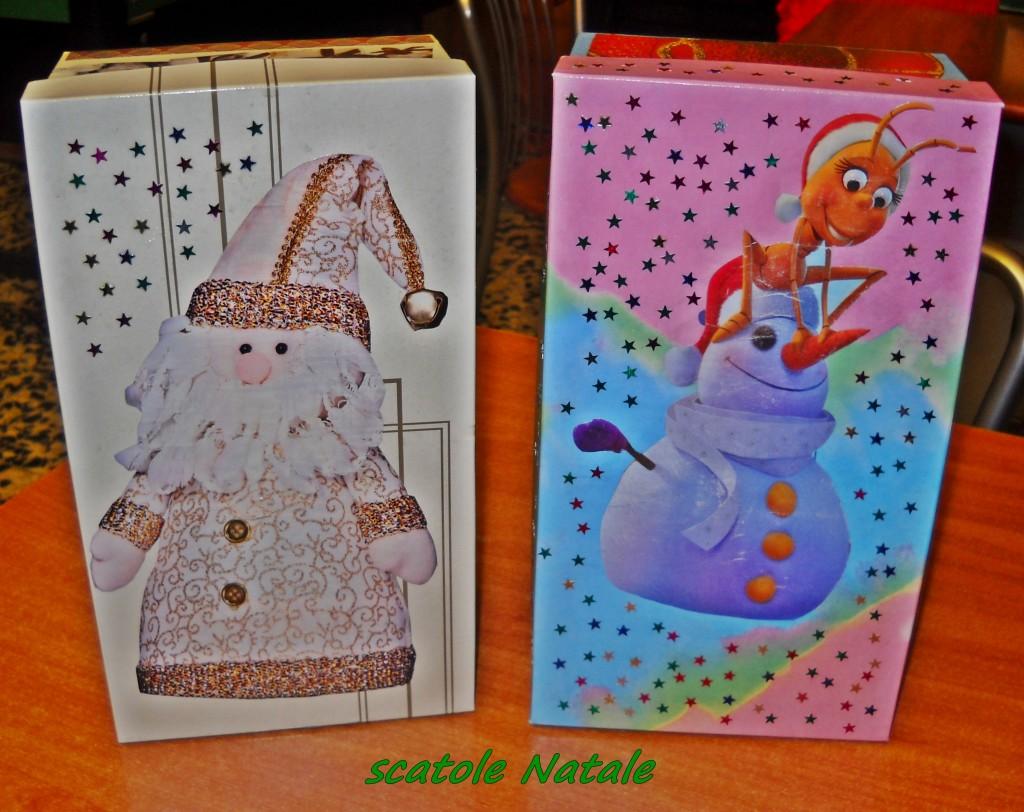 scatola Natale