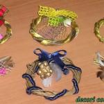 Decori confezione regalo 3 idee