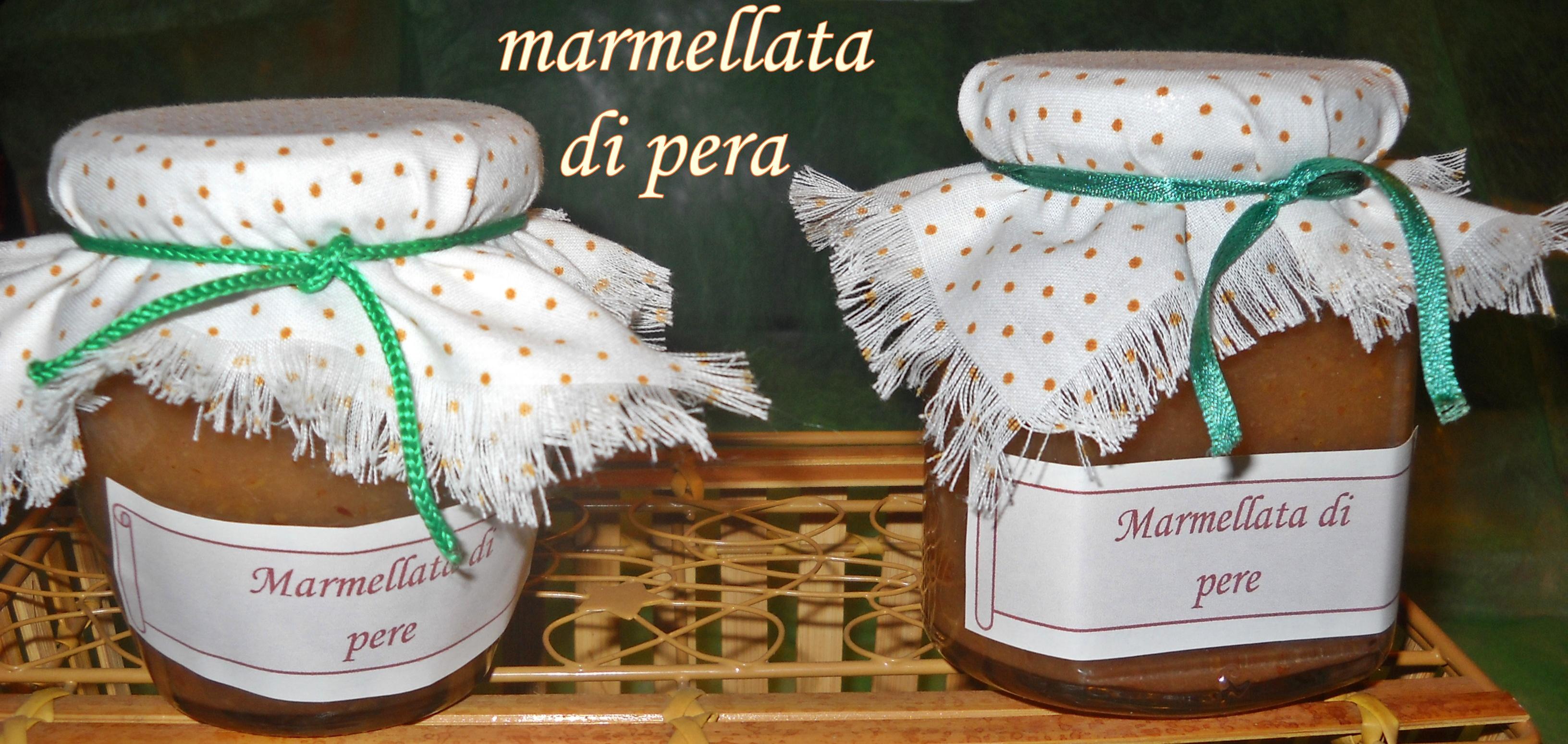 marmellata di pera