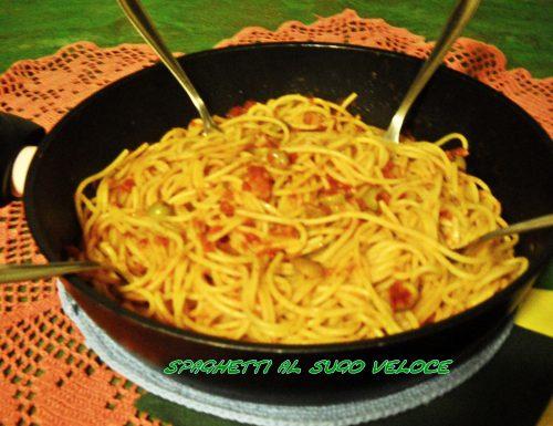 Spaghetti al sugo veloce