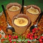 Mini cup al pistacchio
