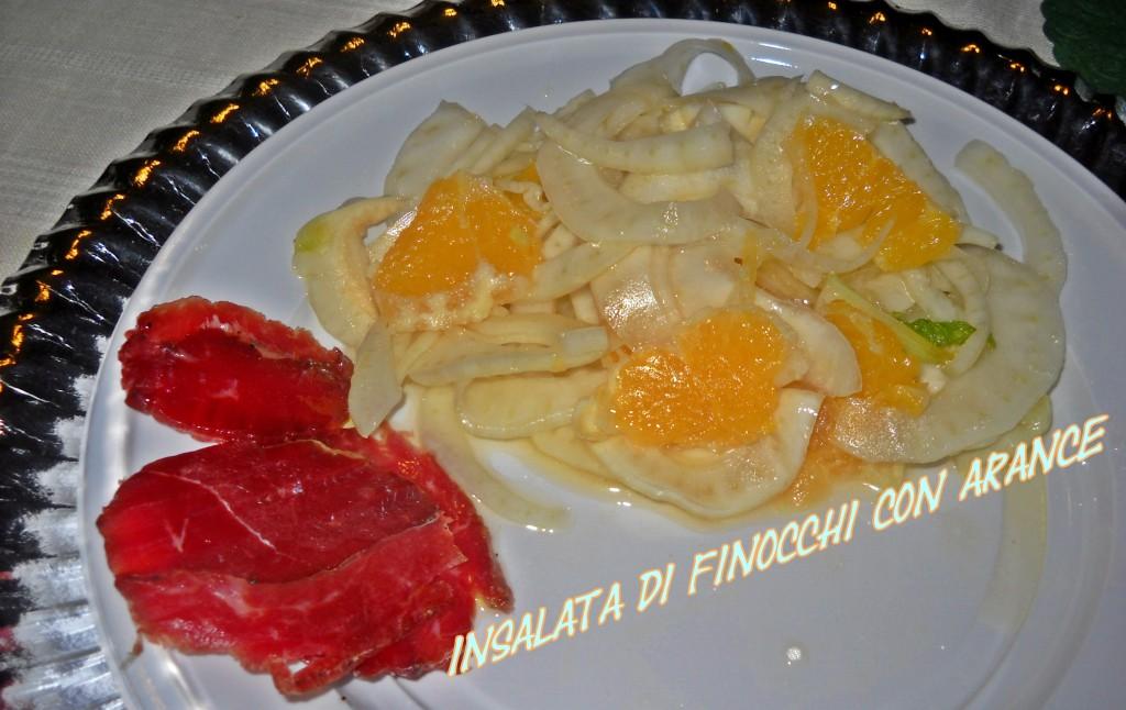 insalata di finocchi con arance