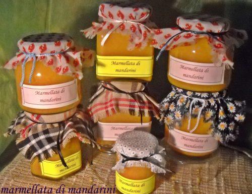 Marmellata di bucce di mandarini