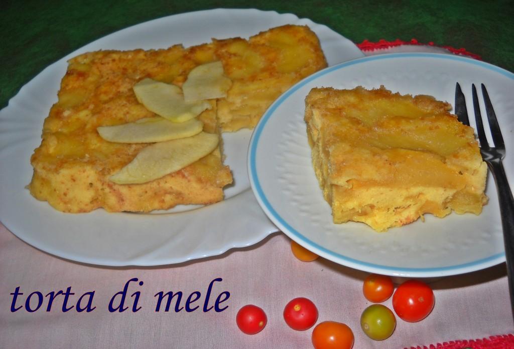 Torta di mele (al microonde)