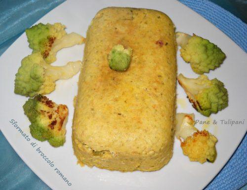 Sformato di broccolo romano