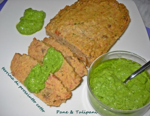 Terrina di prosciutto cotto con salsa verde