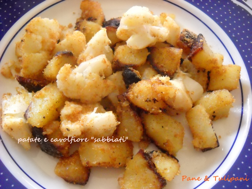 "patate e cavolfiore ""sabbiati"""