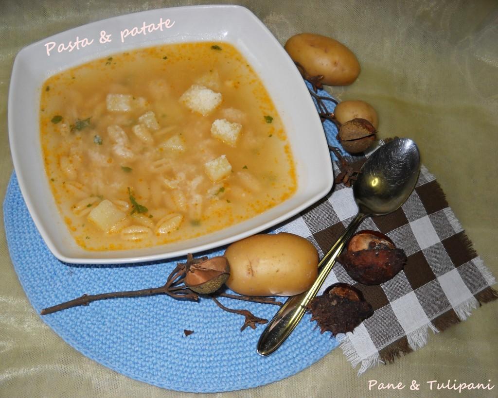 pasta con patate.2