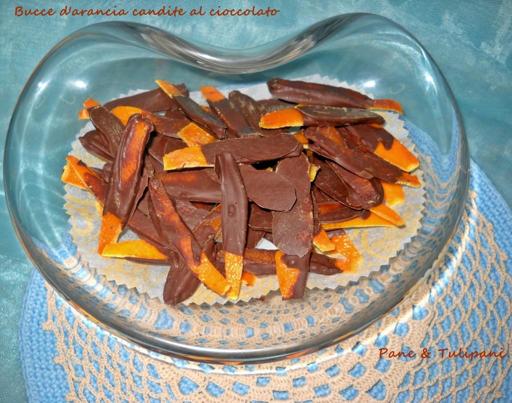 Bucce di arancia candite al cioccolato.1