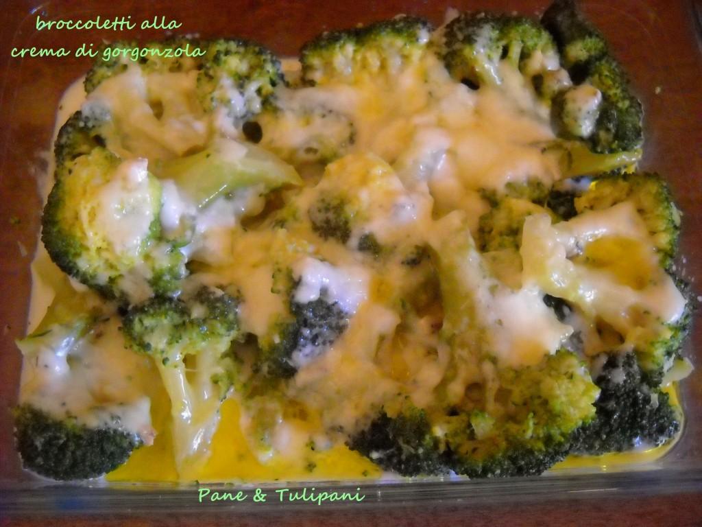 Broccolett alla crema di gorgonzola.2