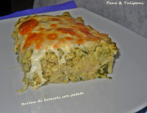 Terrina di broccoli con patate