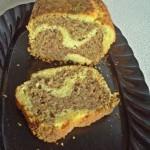 Plumcake marmorizzato gluten free
