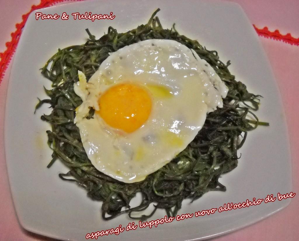 Asparagi di luppolo con uova.1