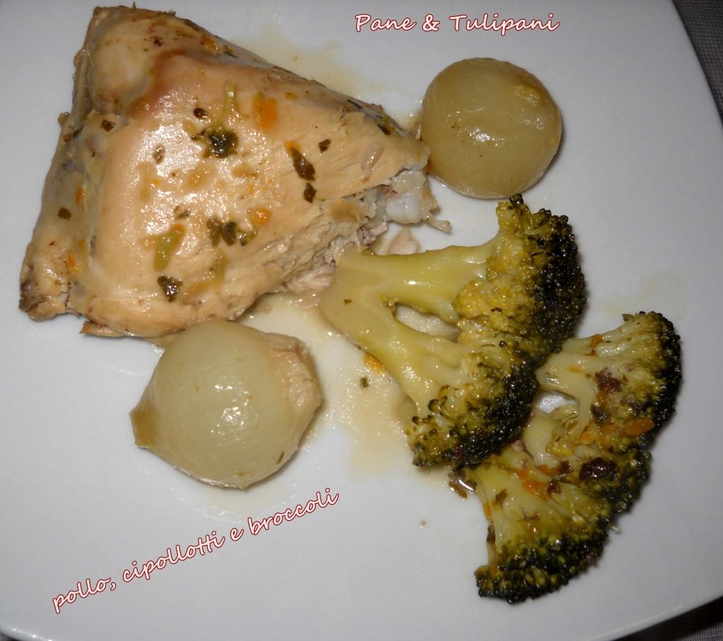 248-pollo, cipollotti con broccoletti.3