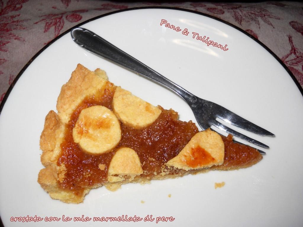 Crostata con la mia marmellata di pere.1