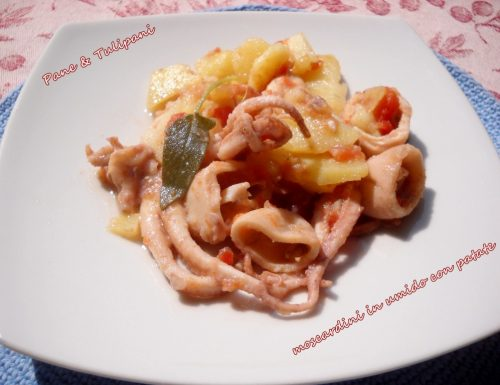 Moscardini in umido con patate