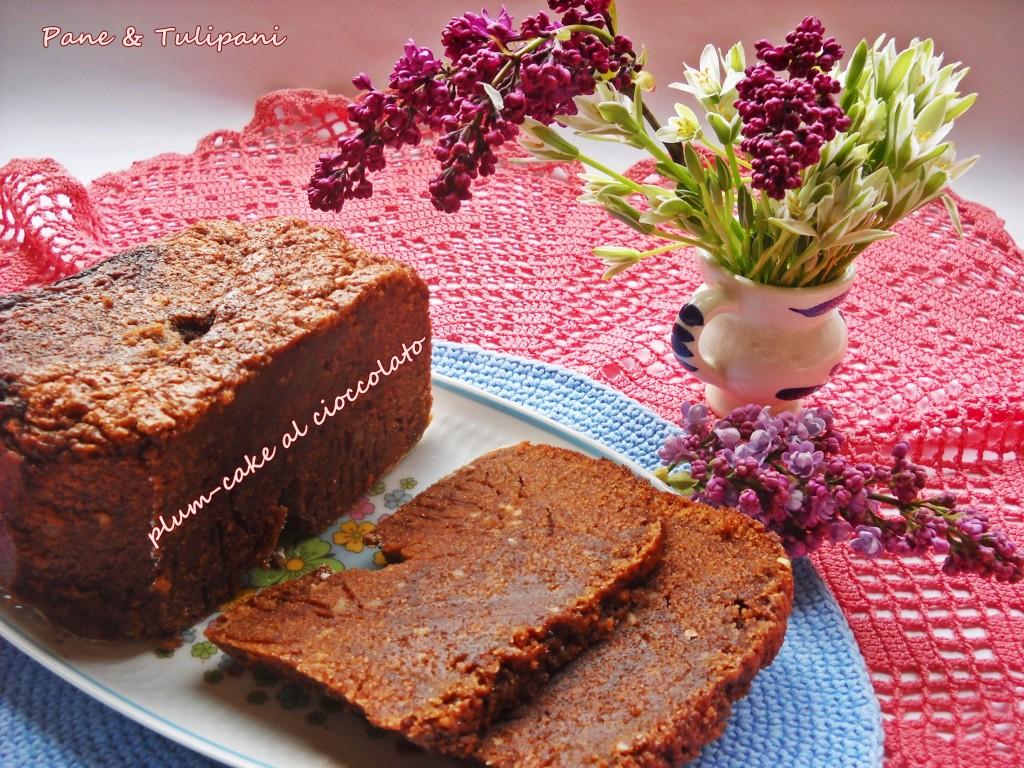 plum-cake al cioccolato