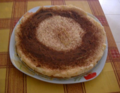 Cake con crema pasticcera