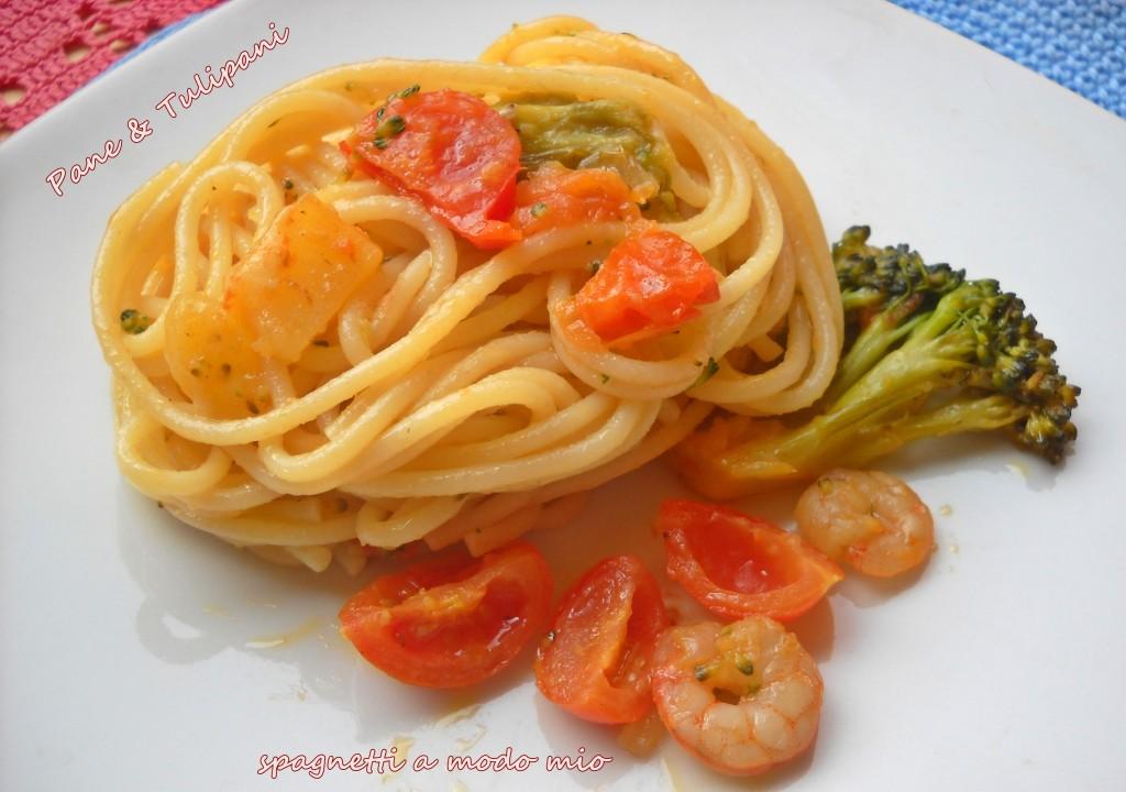 Spaghetti a modo mio.1