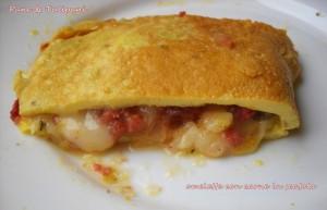 omelette con carne in scatola