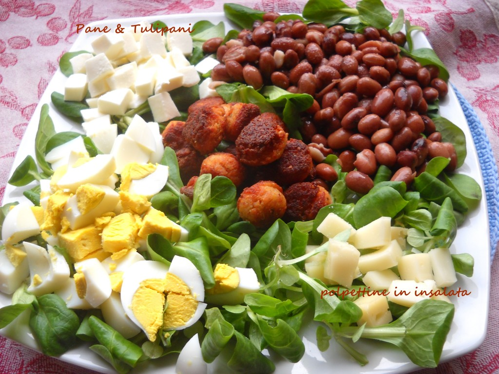 polpettine in insalata