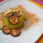 Sformatini di zucchine con salsa allo zafferano