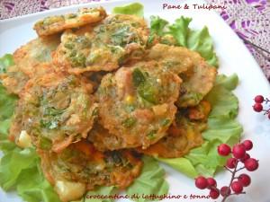 Croccantine di lattughino e tonno-1