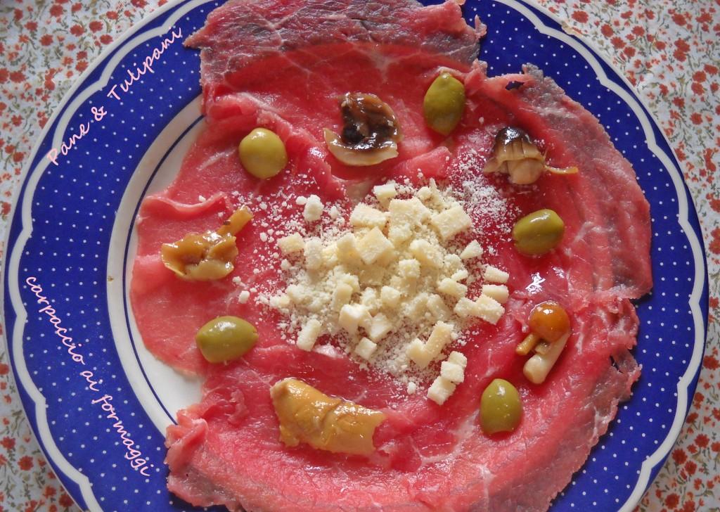 Carpaccio ai formaggi.1