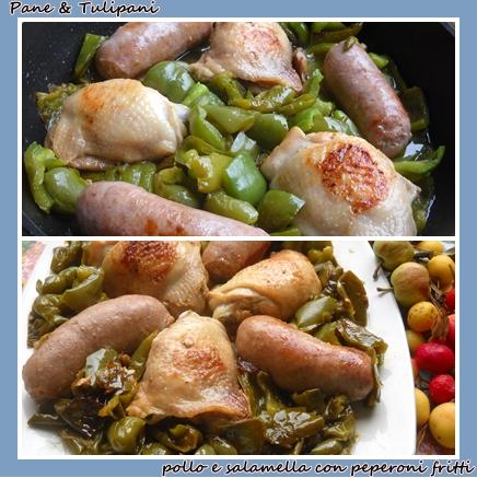 338-pollo e salamelle con peperoni fritti.2