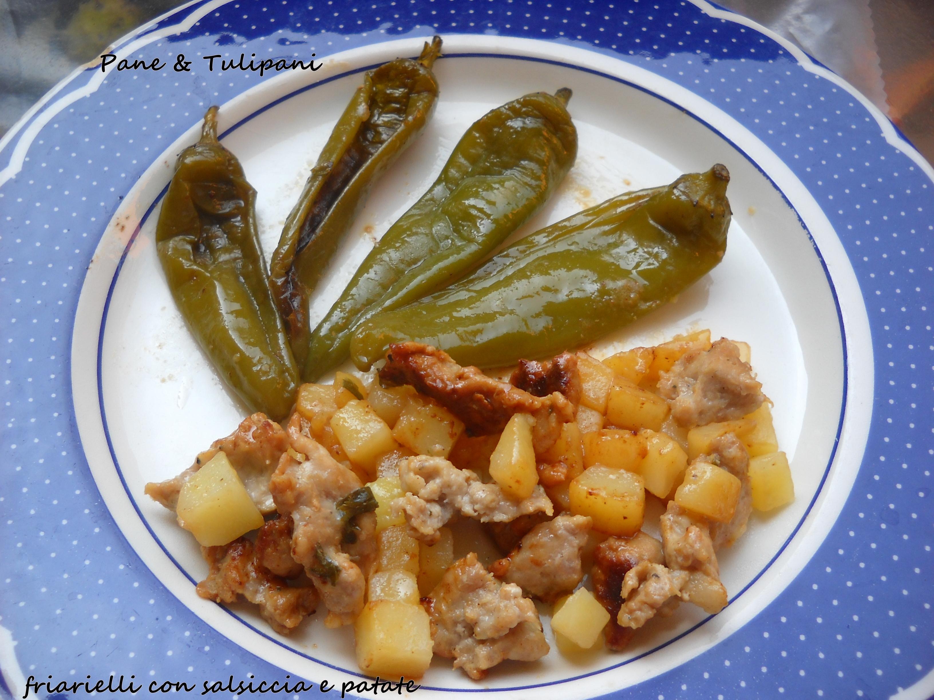 friarielli con salsiccia e patate