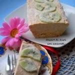 Dessert di kiwi con amaretti