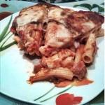 Parmigiana con sedani rigati