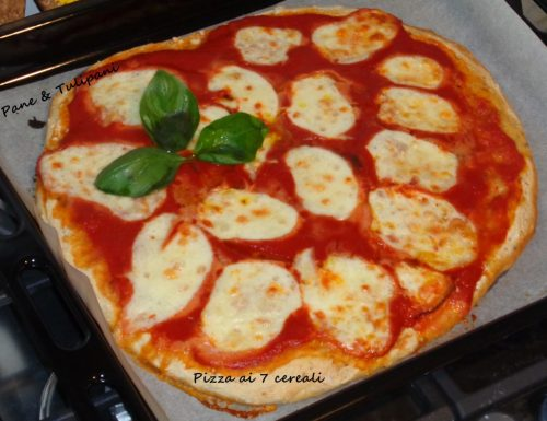 Pizza ai sette cereali