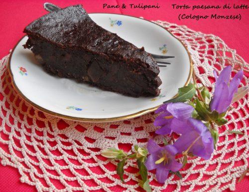 Torta paesana di latte (da Cologno Monzese)