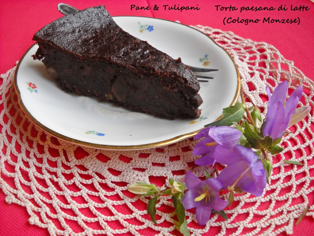 Torta paesana di latte (Cologno M.se)