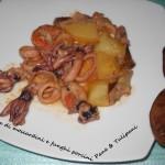 Zuppetta di moscardini e funghi porcini