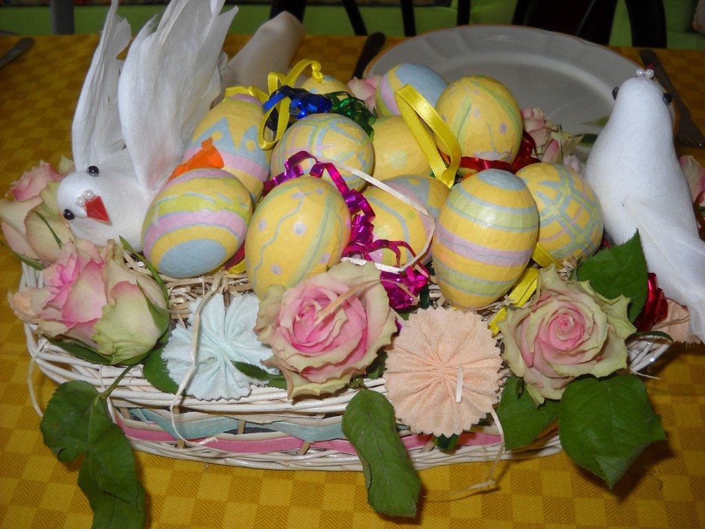 Pasqua 2015:il mio menù