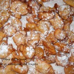 Frittelle di carnevale alla fragola