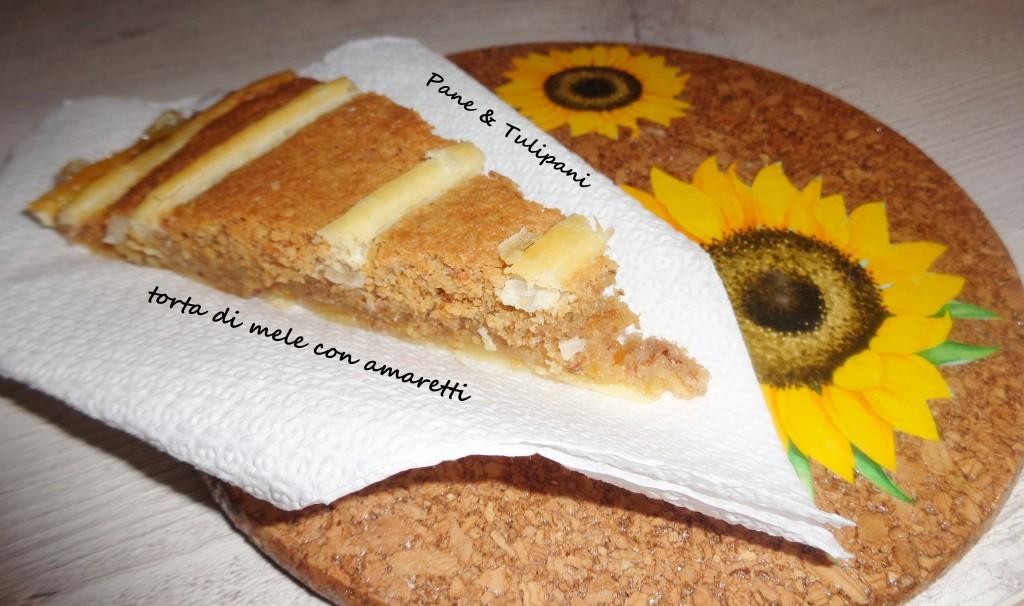 torta di mele agli amaretti