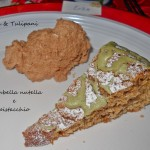 Ciambella nutella e pistacchio