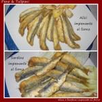 Alici e sardine impanate al forno