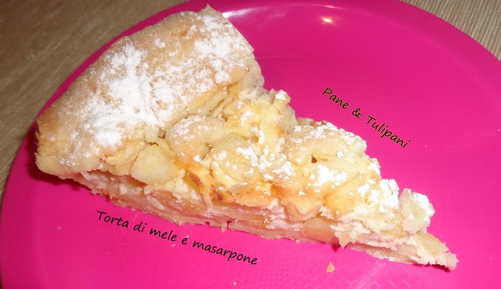 Torta di mele e mascarpone.1